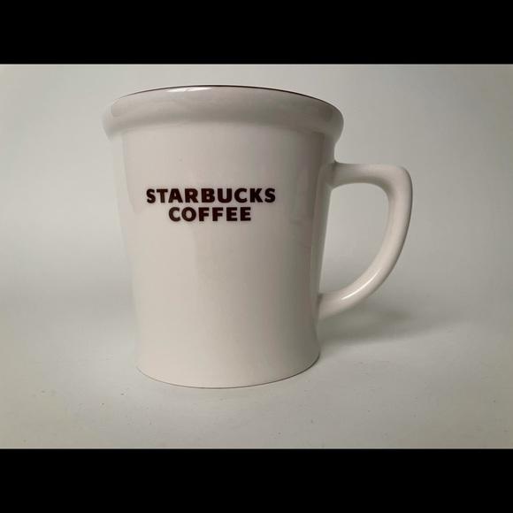 """2009 Starbucks """"new bone china"""" mug"""